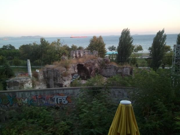 Graffiti and Roman Ruins