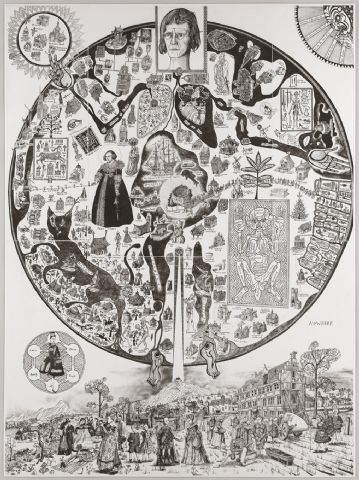 Grayson Perry - Map of Nowhere 2008