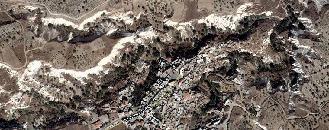 Ibrahampaşa - aerial view