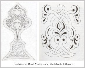 Rumi inspired designs