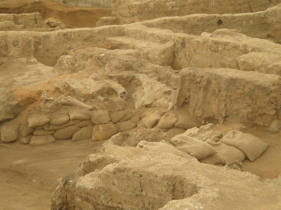 The excavation site at CatakHoyuk