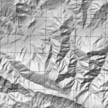 Hill shading example