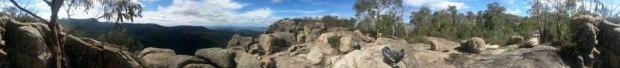Booroomba Rocks panorama