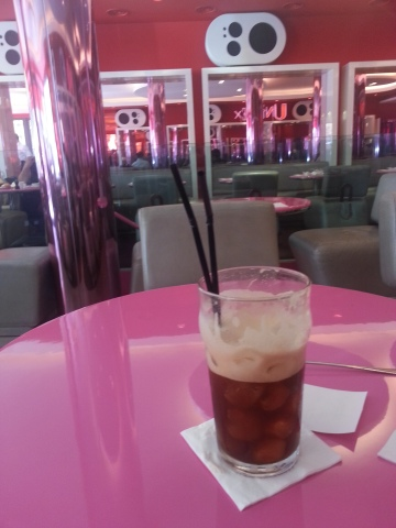 Cafe Frappe at Champes Elysees