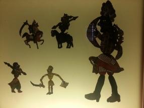 Turkish shadow puppets