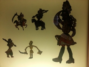 Turkish shadow puppets