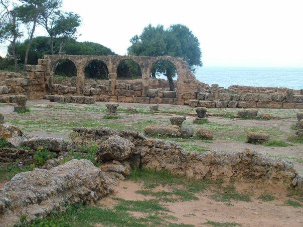 4th century Basilica at Tipasa © Tracey Benson 2008