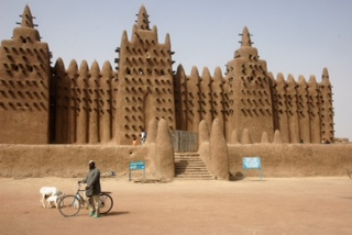 Image 8: The Great Mosque of Djénné ©2012 Meyoko Illustrations