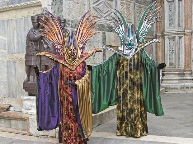 Venetian masks - image credits unknown