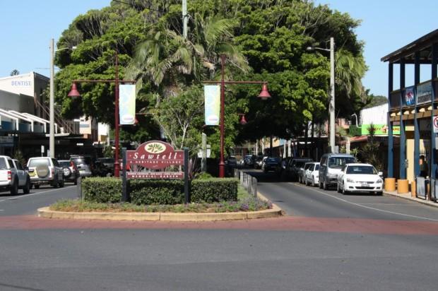 Main Street, Sawtell, Image Credit: Sawtell Gazette