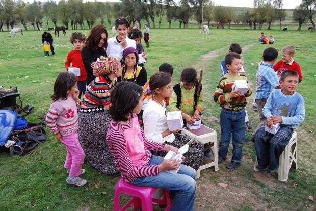 Village children, Boyalı, 2009.