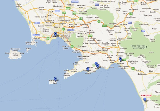 Map - Italy