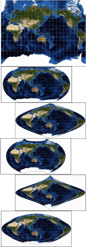 Some Map Projections